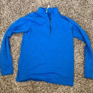 Lululemon Surge 1/2  zip pullover.